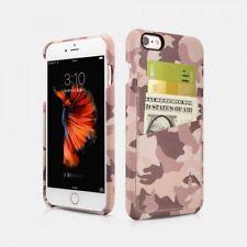 iPhone 6/6S Etui en cuir et microfibres spécial Camouflage Desert