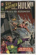 Tales to Astonish #86 Hulk & Sub-Mariner Gd
