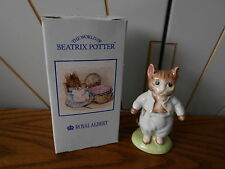 TOM KITTEN character ceramic figure/figurine ROYAL ALBERT Beatrix Potter cat