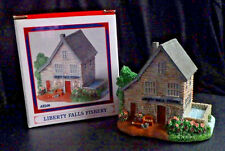 "Liberty Fall 00006000 S ""Fishery"" Ah268 Christmas Western Snow Village Figurine"