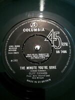 "Cliff Richard ‎– The Minute You're Gone Vinyl 7"" Single UK Columbia DB 7496 1965"