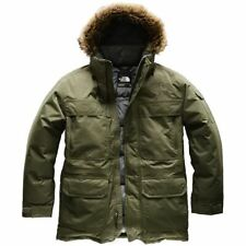 The NORTH FACE men's McMurdo Hooded Down Parka III Green Olive Size 3XL NEW nwt