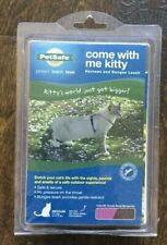 Come With Me Kitty Leash & Harness Set Medium Dusty Rose/ Burgundy NIP Cat Walk