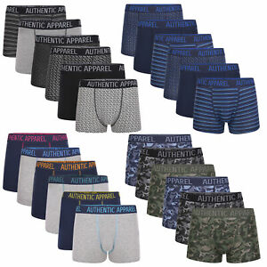 Mens 6 Pack Boxer Shorts Underwear Underpants Hipster Multipack Boxers Size S-XL