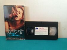 Sliver Unrated edition   VHS tape & sleeve