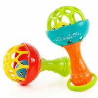 Babybett Kinderwagen Rasseln Greiflinge Spiral Sitz Spielzeug N4A3