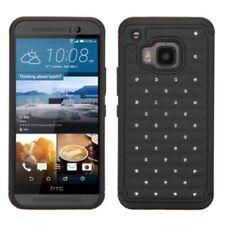 Étuis, housses et coques noir en plastique rigide pour téléphone mobile et assistant personnel (PDA) HTC