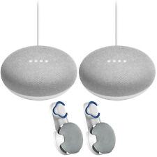 Google Em Casa Mini alto-falante inteligente com Giz Assistente Google 2 Pack +2x montagem em parede
