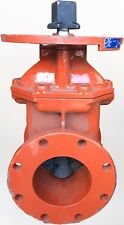"""NIBCO 6"""" 300 PSI CWP Iron Body Gate Valve Resilient Wedge, Flanged, F-609-RWS"""
