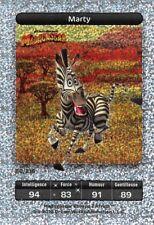 Carte Carrefour Dreamworks - Madagascar - Marty - Carte Titane  N° 80