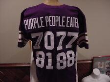 GORGEOUS Minnesota Vikings Auto'd Purple People Eaters Jersey, Alan Page, Eller!
