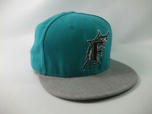 Florida Marlins 59Fifty New Era Hat 7 3/8 Fitted MLB Baseball Cap