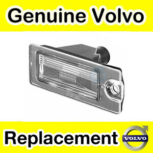 Genuine Volvo S60, S80, V70, XC70 (-07) XC90 (-14) Number Plate Light / Lamp