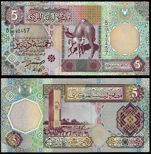 LIBIA 5 Dinari (P65a) N. D. (2002) UNC