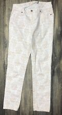 Christopher Blue Jeans Isabel Mid Rise Skinny Ankle Crop Sz 4 Inseam 30 133.415