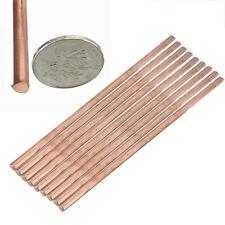 Rund Kupferstab Rein 99.9% Kupfer Stange Cu 200mm x 6mm Stab