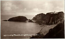 Lundy. Landing Beach & South Lighthouse # 4757 by Sweetman.