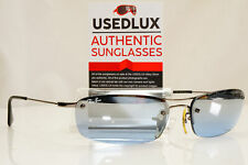 Authentic Vintage Ray-Ban Mens Sunglasses Silver BLUE RB 3174 004/7C 27779