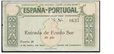 Mega Raro España V Portugal: Copa del Mundo 1950 Play-Off: 1st pierna, Madrid
