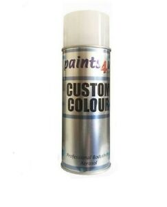 Compatible with NISSAN 400ml Car Paint Aerosol WHITE PEARL QX1 (3 Stage)