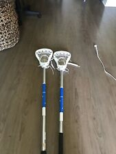 2 Men's Lacrosse Sticks