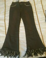 """Vintage Khaki Jeans 1990s Size 30 New Measures 33.5"""" Inner Waist Circumference"""