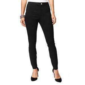 INC NEW Women/'s Regular Button-front Mid-rise Skinny Pants TEDO