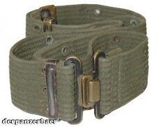 USMC Us buco Cinturone US Army Cinturone ORIG WWII verde oliva usato korena Vietnam