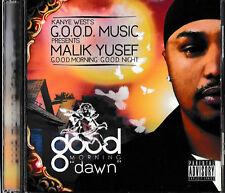 KANYE WEST & MALIK YUSEF PRESENT G.O.O.D. MORNING (Dawn) CD/NEUF + pas écouté-Comme neuf
