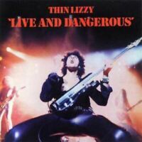 THIN LIZZY live and dangerous (CD, album, remastered) classic rock, hard rock,