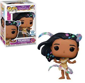 Funko POP! Disney Princess Pocahontas with leaves Exclusive #1077 vinyl figure