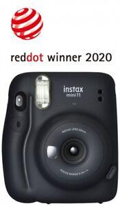 Fujifilm instax mini 11 charcoal gray Sofortbildkameras & Instaxkameras