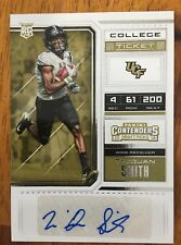 2018 Contenders College ticket auto TreQuan Smith UCF New Orleans Saints