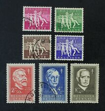 CKStamps: Belgium Stamps Collection Scott#B579-B585 Used