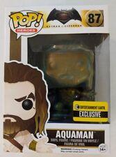 Funko Pop! Heroes #87 Aquaman Entertainment Earth Exclusive (Patina Finish)