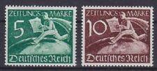 Dr Mi No. Z 739 - 740, Abroad Newspaper Stamps German Empire 1939, Mint, MNH