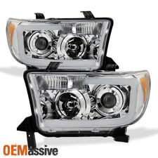 2007-13 Toyota Tundra | 2008-16 Sequoia SMD LED Tube Projector Headlights Pair