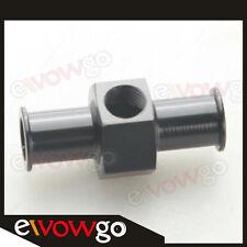 """5/16"""" 8mm Billet Fuel Pressure Gauge Inline Barb Adapter With 1/8"""" Port Aluminum"""