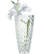 "Mikasa Crystal Palazzo Flowers Vase 9"", Home Decoration"