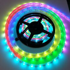 Addressable RGB LED Strip WS2801 Waterproof Magic Dream Color LED Rope Light