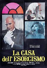 CINEMA-soggettone LA CASA DELL'ESORCISMO savalas, sommer, MARIO BAVA