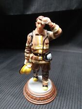 """Vanmark Red Hats Of Courage """"It's A Hot One""""  Ltd Edition Fireman"""