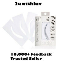 ELF E.L.F. EYEBROW STENCIL KIT - 4 EYEBROW TEMPLATES #1722