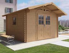Casetta legno giardino LA PRATOLINA alta qualità spessore 33 mm di abete 3.5x3