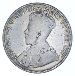 Better Date - 1912 Canada 50 Cents - SILVER *176