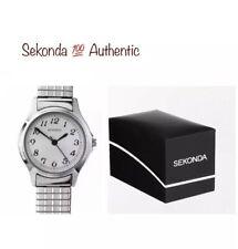 Sekonda Ladies Analogue Expander Bracelet Watch Silver Strap 4133B With Gift Box