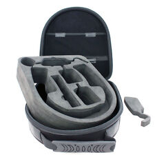 Large Headphone Case w/ Cushion for Sennheiser HD600 AKG K514 K545 Mixr Gold