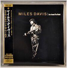 Miles DAVIS Live Around The World Orig '13 JAPAN Mini LP CD WPCR-12750 K GARRETT