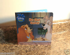 Disney Animal Friends Board Book Be Our Guest New