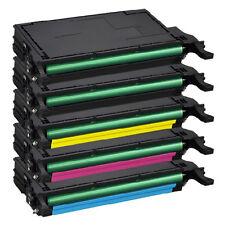 5 toner xxl pour samsung clp-620 ND clp-670 ND clx-6220 FX clx-6250 FX clt-5082l